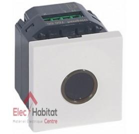 Interrupteur à effleurement 10A Mosaic blanc Legrand 076666