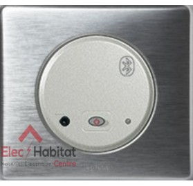 Interface bluetooth Céliane aluminium Legrand 67308+68518+80251+68921