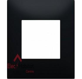 Plaque simple Espace Evolution Nuance Noir Mat Arnould 64521