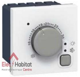 Thermostat d'ambiance électronique 2 modules mosaic 5/30° Legrand 76720
