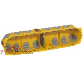 Boitier quadruple entraxe 71mm ecobatibox profondeur 40mm Legrand 080024