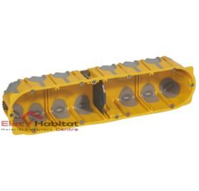 Boitier quadruple entraxe 71mm ecobatibox profondeur 50mm Legrand 080034