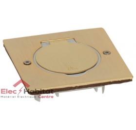 Platine vide carrée Platinum bronze Arnould 48295