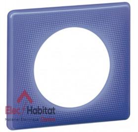 Plaque simple 90's violet Legrand 066661