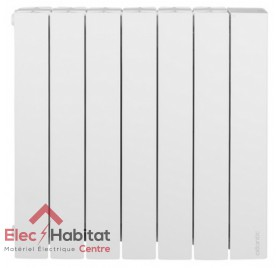 Radiateur inertie fluide ACCESSIO DIGITAL 2 horizontal 1250w Atlantic 524912