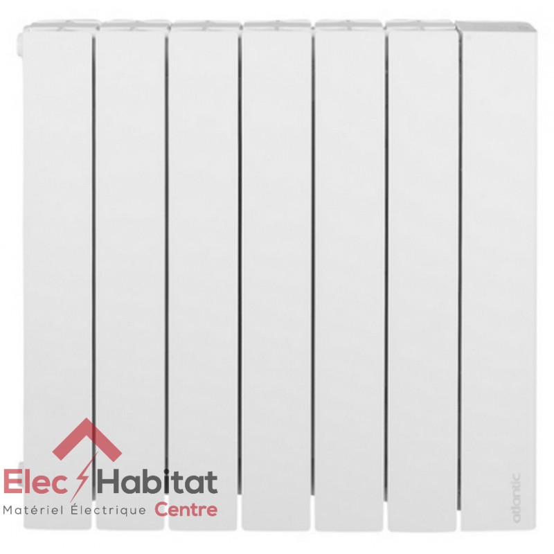 radiateur inertie fluide accessio digital horizontal 1500w atlantic 524715. Black Bedroom Furniture Sets. Home Design Ideas