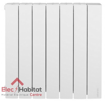 radiateur inertie fluide accessio digital 2 horizontal 2000w atlantic 524920. Black Bedroom Furniture Sets. Home Design Ideas