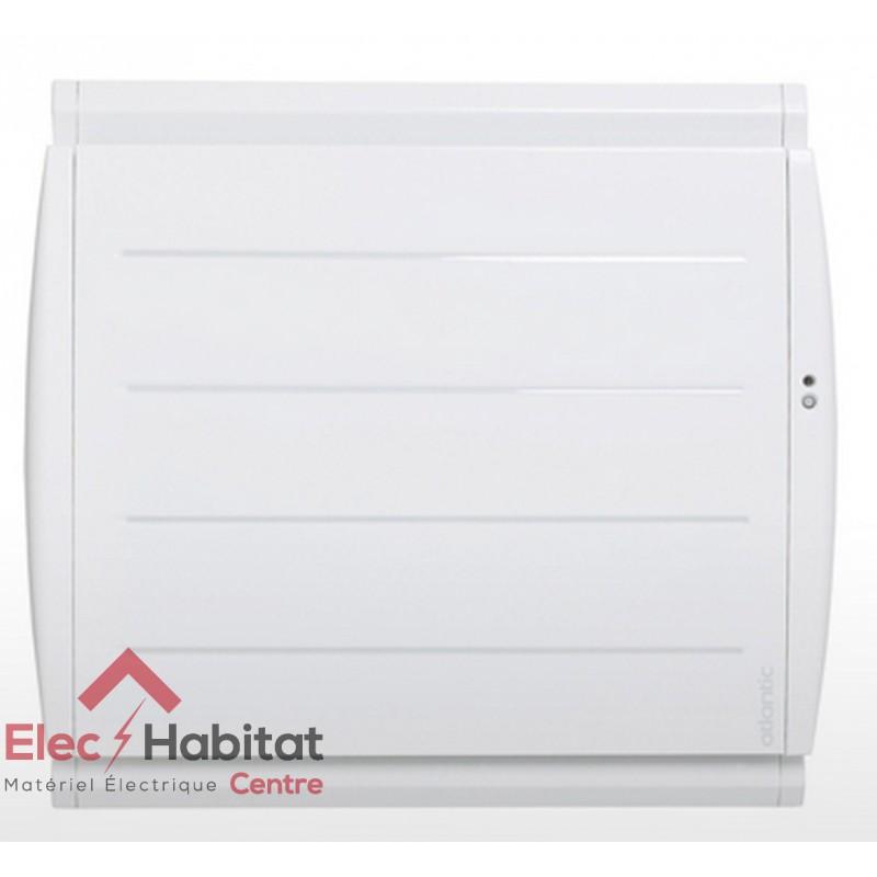 radiateur inertie fonte maradja pi connecte horizontal 750w atlantic 507607. Black Bedroom Furniture Sets. Home Design Ideas