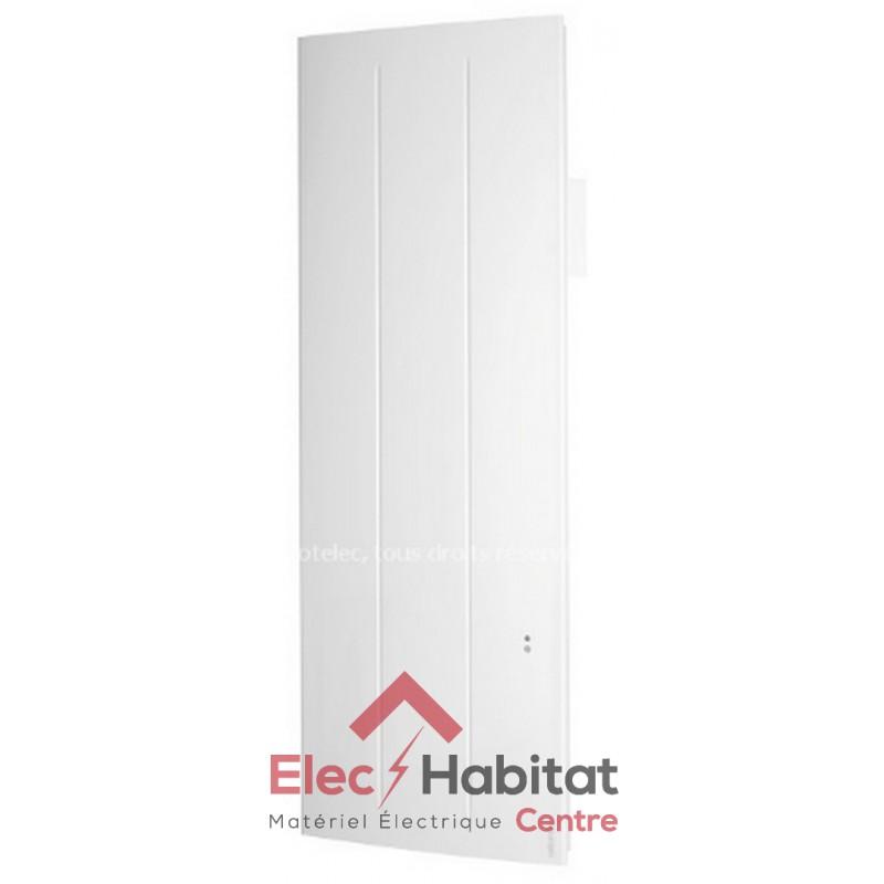 radiateur inertie fonte oniris pi connecte vertical 1000w atlantic 518810. Black Bedroom Furniture Sets. Home Design Ideas