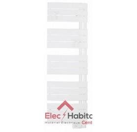 Radiateur sèche serviette NEFERTITI ETROIT blanc 500w mat à droite Atlantic 850505