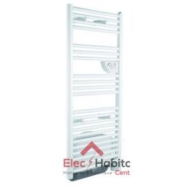 Radiateur sèche serviette DORIS MIXTE VENTILO blanc 1750w Atlantic 851117