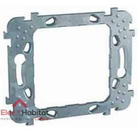 Support 1 poste pour composition entraxe 57mm Unica Schneider MGU7.012