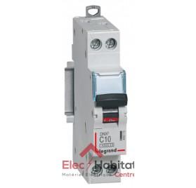 Disjoncteur Ph+N 10A DNX3 à vis Legrand 406773