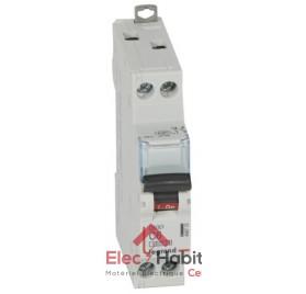 Disjoncteur Ph+N 6A DNX3 à vis Legrand 406772