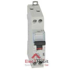 Disjoncteur Ph+N 25A DNX3 à vis Legrand 406776