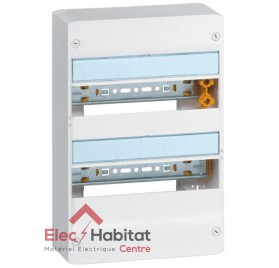 Coffret 2 rangées 26 modules Legrand 401212