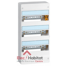 Coffret 3 rangées 39 modules Legrand 401213