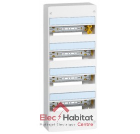 Coffret 4 rangées 52 modules Legrand 401214