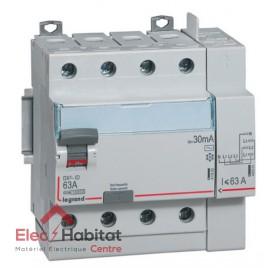 Interrupteur différentiel 4P40A 30mA type AC Vis/Auto Legrand 411652