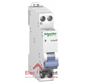 Disjoncteur Ph+N 6A D'clic à vis Schneider 20723