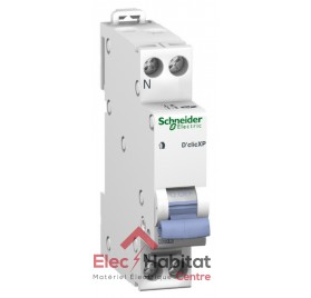 Disjoncteur Ph+N 25A D'clic à vis Schneider 20728