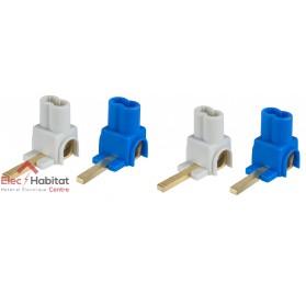 Connecteurs 25mm² 2 phases et 2 neutres Schneider 14875