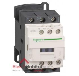 Contacteur triphasé 12A LC1D12 bobine 230v Schneider LC1D12P7