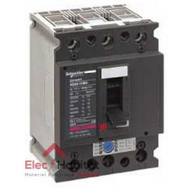 Disjoncteur compact NS80H MA 80A 3P3D Schneider 28100