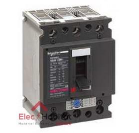 Disjoncteur compact NS80H MA 25A 3P3D Schneider 28102
