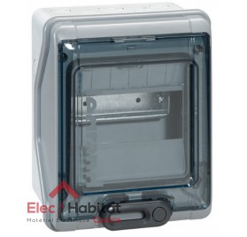 Tableau coffret électrique 6 modules étanche IP65 Legrand 01906