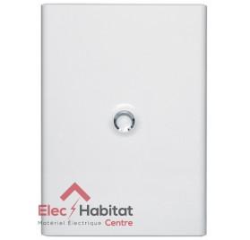 Porte blanche pour coffret électrique 3 rangées de 18 modules Legrand 401233