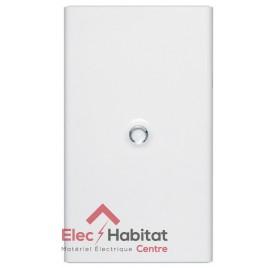 Porte blanche pour coffret électrique 4 rangées de 18 modules Legrand 401234