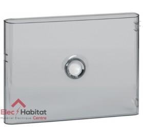 Porte transparente pour coffret électrique 1 rangée de 18 modules Legrand 401241