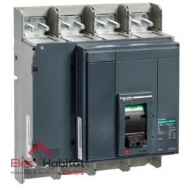 Interrupteur/Sectionneur compact NS1250NA 1250A 4P Schneider 33494