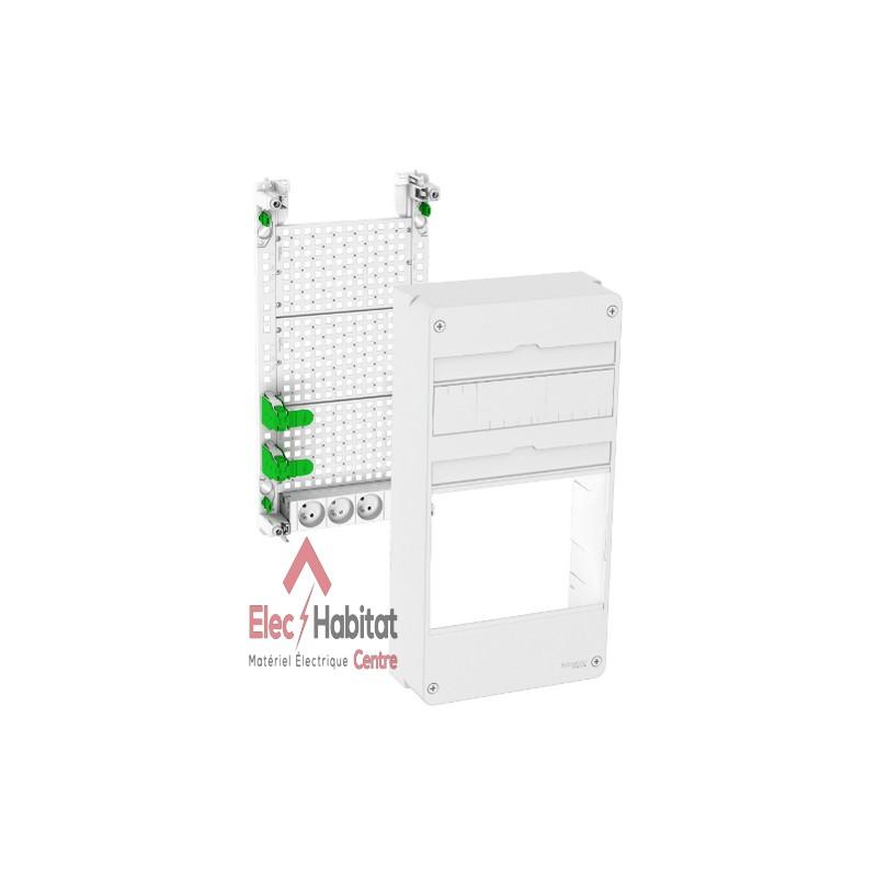 coffret de communication lexcom home coffret activebox vide schneider vdir511004. Black Bedroom Furniture Sets. Home Design Ideas