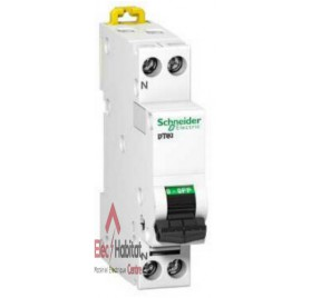 Disjoncteur DT40N 1P+N 4A courbe C Schneider A9N21022