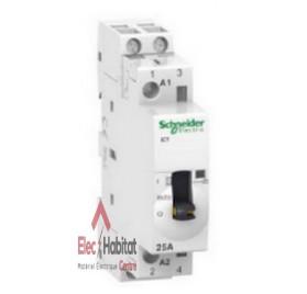 Contacteur de chauffe-eau bipolaire 230V 25A Schneider A9C25732