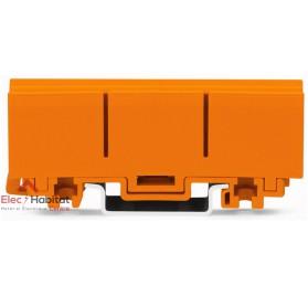 Lot de 10 supports rail DIN pour bornes Wago série 2273 référence 2273500