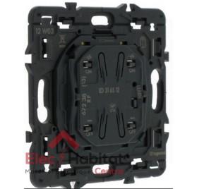 Mécanisme interrupteur d'éclairage émetteur radio IN One Céliane Legrand 67238