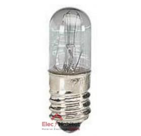 Lampe E10 pour voyant de signalisation 230V 3/4W Legrand 89804