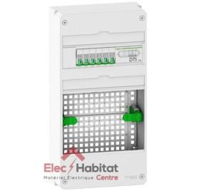 Coffret de communication pack LexCom Home 6 RJ45 grade 2 TV Box Essential avec emplacement box Schneider VDIR390036