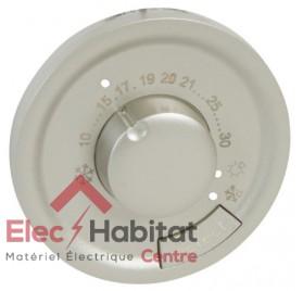 Enjoliveur thermostat d'ambiance Céliane titane Legrand 068540