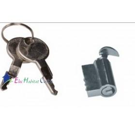 Serrure à clef pour porte de coffret Hager GZ35A