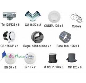 Kit accessoires OPTIMOCOSY HR linéaire Atlantic 412204