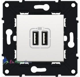 Prise double USB Arnould 64037
