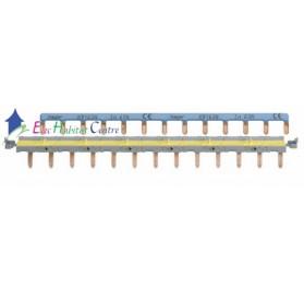 Barre de pontage pour système sanVis 13 modules Hager KBS763