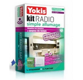 Kit radio simple allumage power KITRADIOSAP Yokis 5454515