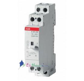 Télérupteur unipolaire 16A E251T ABB 435004