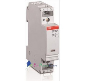 Contacteur modulaire 20A ESB 20-20 ABB 26326