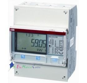 Compteur d'énergie 3 modules triphasé B23 ABB 832311